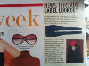 Irish Examiner Annmarie O'Connor's Label Lookout